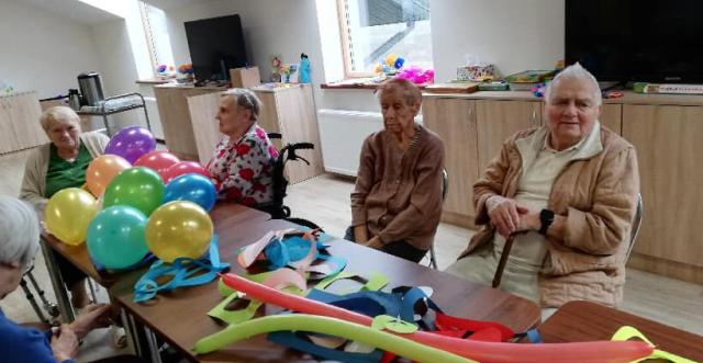 Wspólne zajęcia dla Mieszkańców Domu Seniora Słoneczne Wzgórze