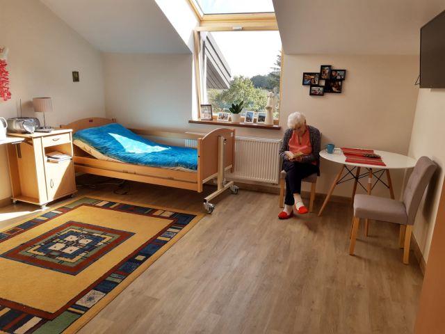 Pokoje w Domu Seniora Słoneczne Wzgórze